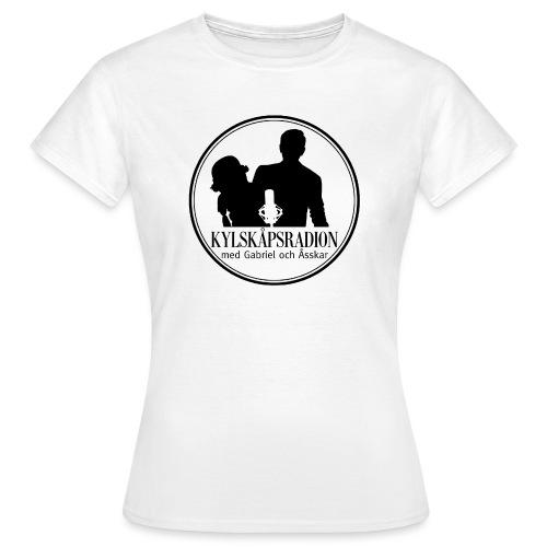 Logga helsvart - T-shirt dam