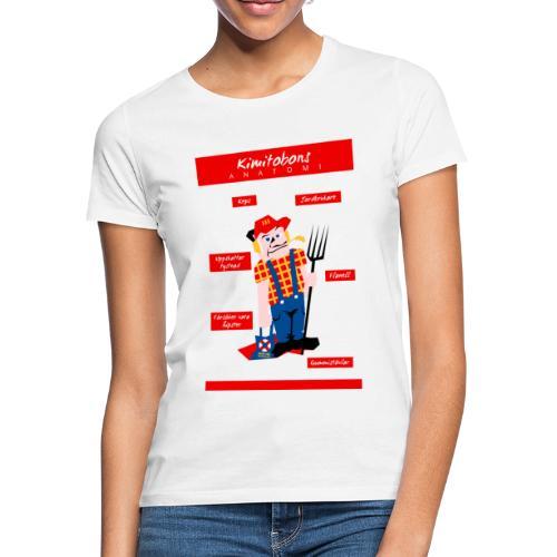 Kimitobons anatomi - Naisten t-paita