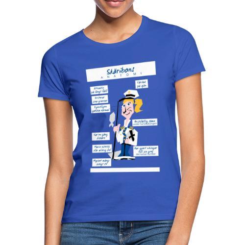 Skäribons anatomi - Naisten t-paita