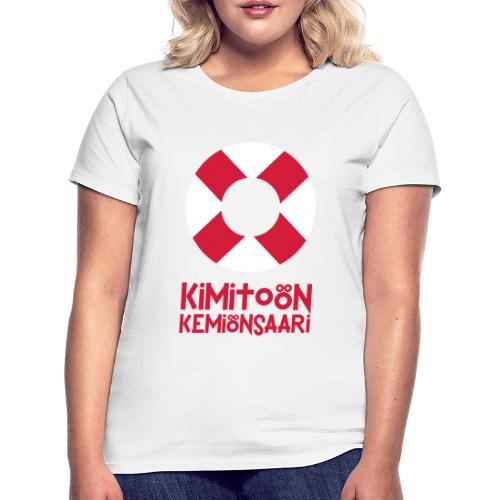 Livboj: Kimitoön (röd text) - Naisten t-paita