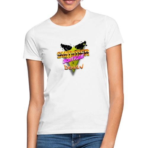 logo summer boutique - T-shirt Femme