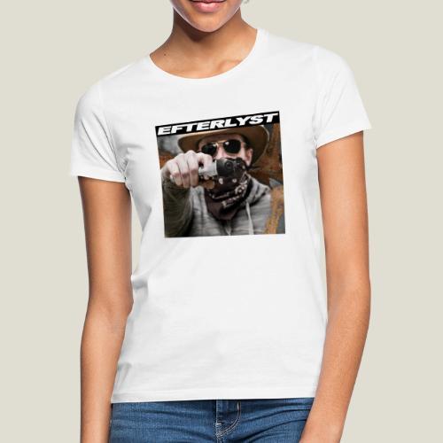 efterlyst bajs i bilen - T-shirt dam