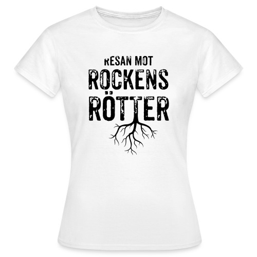 Nallebjörn, Rockens rötter - T-shirt dam