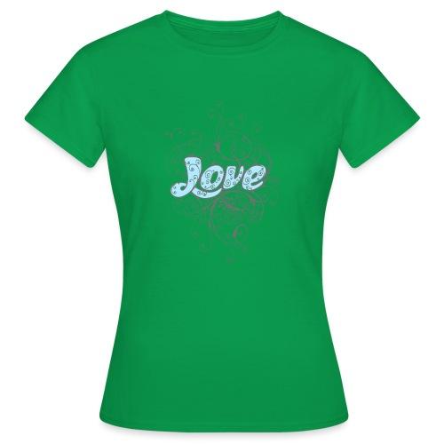 LOVE CON DECORI - Maglietta da donna