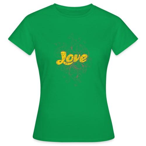 Scritta Love con decorazione - Maglietta da donna