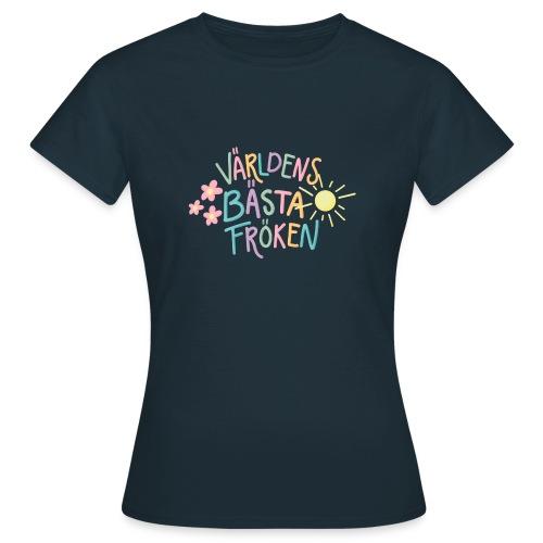 Världens Bästa Fröken - T-shirt dam