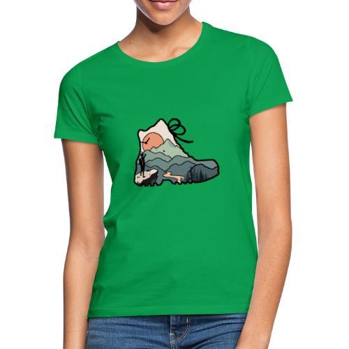The mountain Hiker - Vrouwen T-shirt
