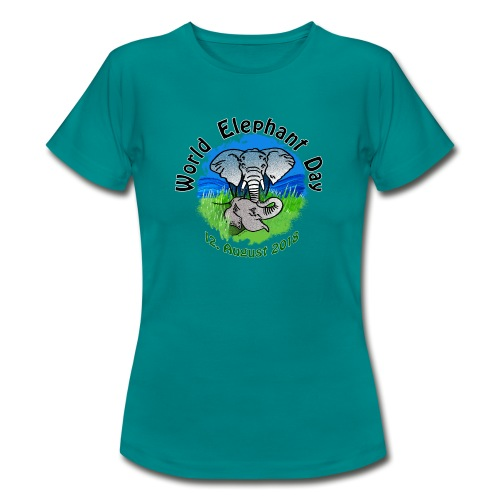 World Elephant Day 2018 - Frauen T-Shirt