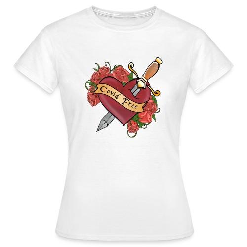Covid FREE - Maglietta da donna