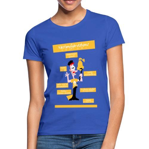 Västanfjärdsbons anatomi - Naisten t-paita