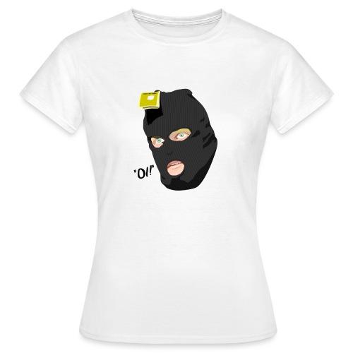 BLACK_CONDOM_SHIRT_PIC_1 - T-skjorte for kvinner
