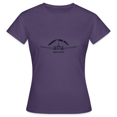 Daisy Blueprint Front 1 - T-shirt dam
