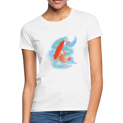 Zensitivity - kiteboard - Vrouwen T-shirt