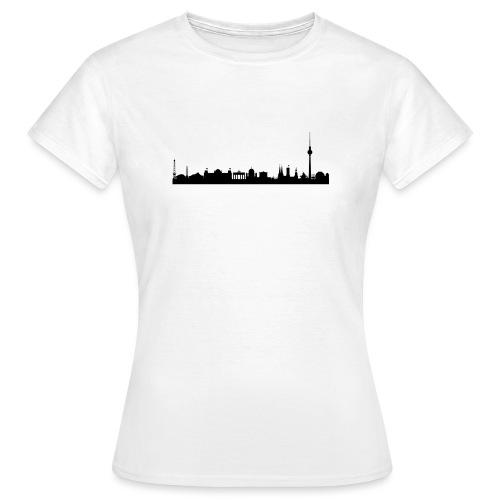 berlin skyline - Frauen T-Shirt