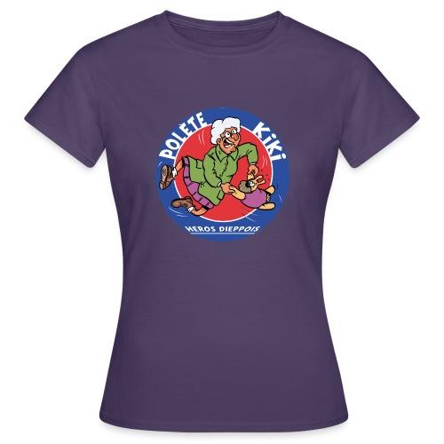 tshirt polete heros dieppois 2 - T-shirt Femme