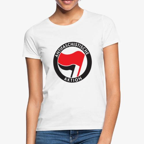 Atnifaschistische Action - Antifa Logo - Women's T-Shirt