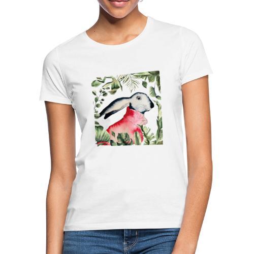 Osterhase im Dschungel - Frauen T-Shirt