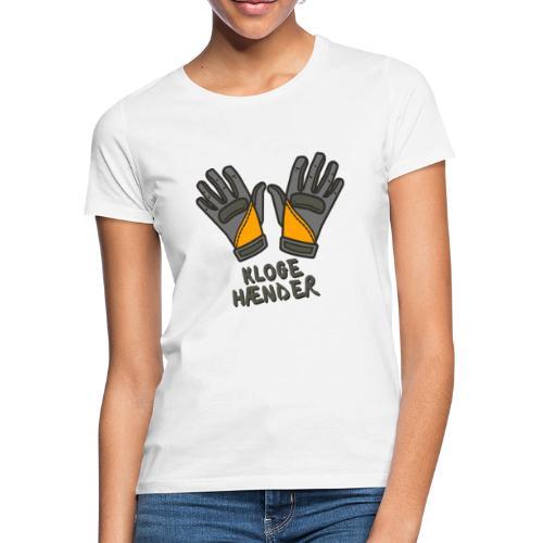 Kloge hænder GRÅ | Kloakministeriet - Dame-T-shirt