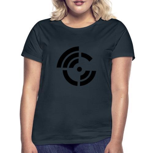 electroradio.fm logo - Women's T-Shirt