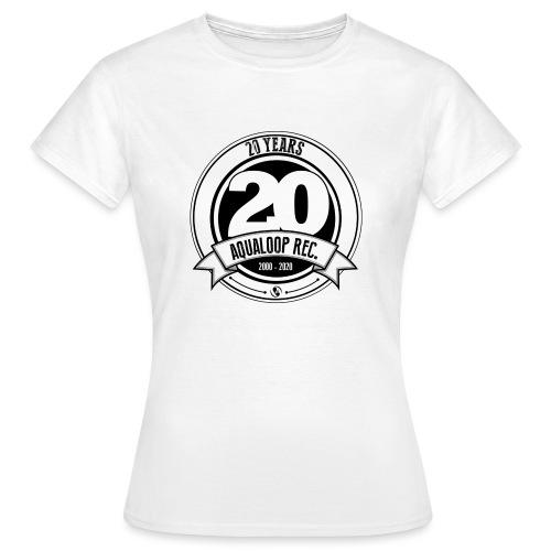 20Y Aqualoop Records - Women's T-Shirt
