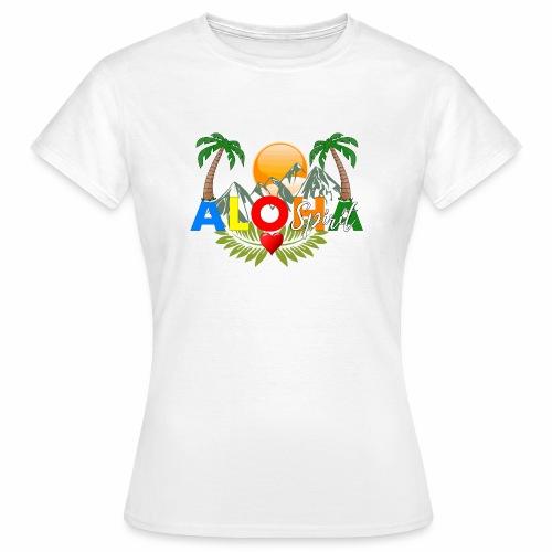Aloha Spirit Tee - Frauen T-Shirt