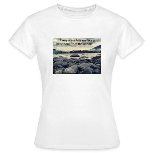 Oceanheart - T-skjorte for kvinner
