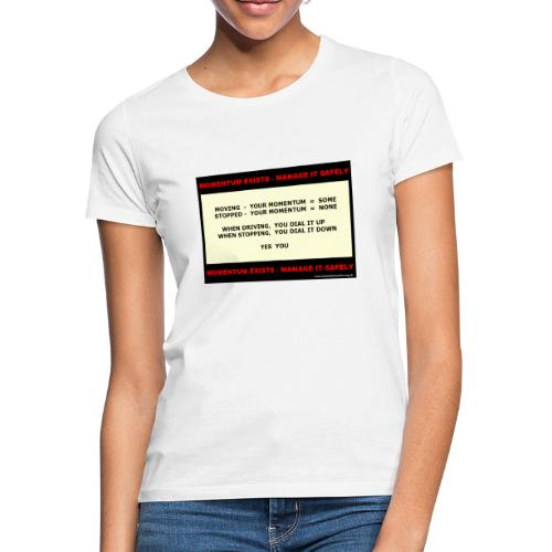 06b_M-youdialitupdown_WP5 - Women's T-Shirt