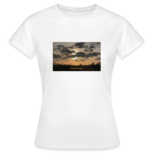 Sunsets and you - Dame-T-shirt