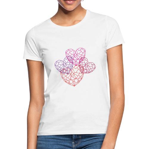Heart-filled day design - Frauen T-Shirt