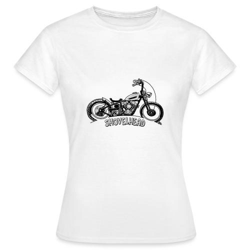 0917 chopper shovelhead - Vrouwen T-shirt