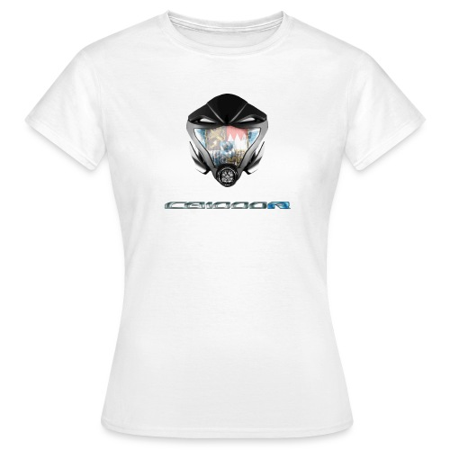 CB1000R Maske BR - Frauen T-Shirt