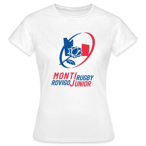 Monti Rugby Rovigo Junior fondo - Maglietta da donna