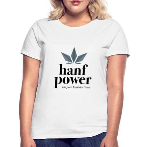 Hanf Power Logo - Frauen T-Shirt