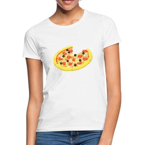 Eltern Kind Partnerlook Pizza Stück - Frauen T-Shirt