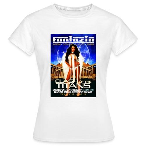 Fantazia Clash of the Titans - Women's T-Shirt