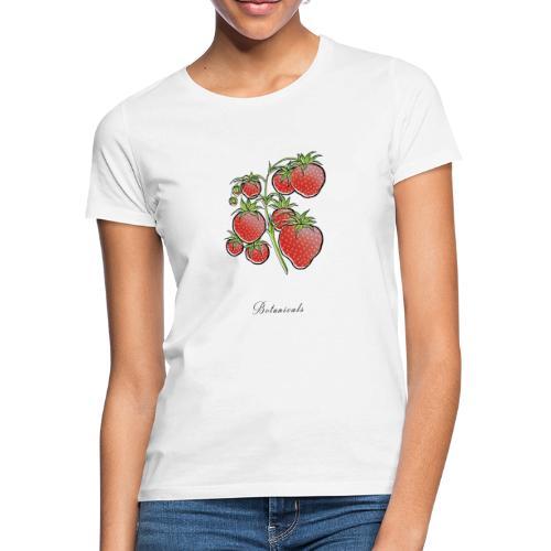Disegno pianta di fragole - Maglietta da donna