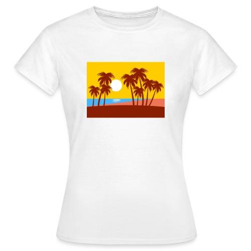 Sonnenaufgang - Frauen T-Shirt
