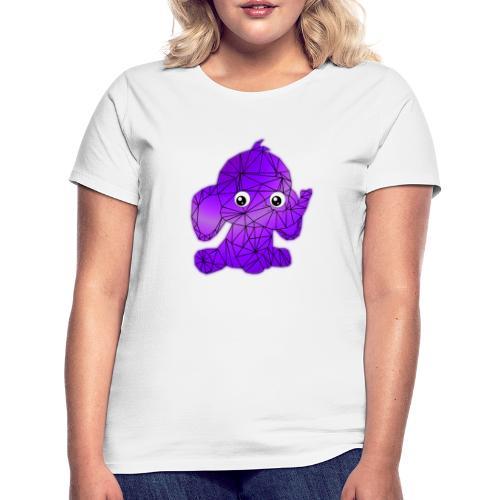 Éléphant géométrique - T-shirt Femme