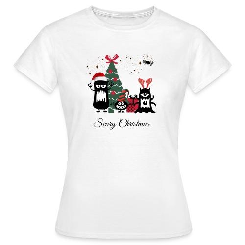 Noël effrayant - Scary Christmas - T-shirt Femme
