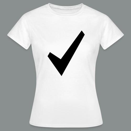 spunta nera - Maglietta da donna