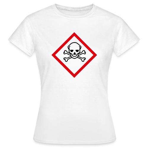 fareymbolakuttgiftigtransp - T-skjorte for kvinner