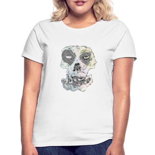 Weird Out Skull - T-shirt dam