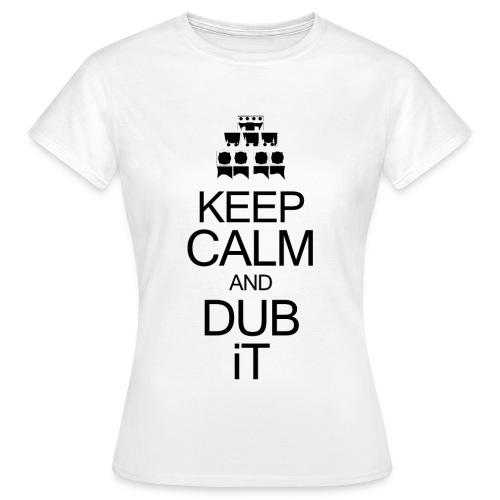 keepcalmblack - T-shirt Femme