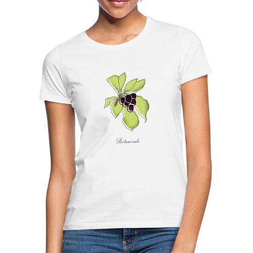 Disegno pianta di bacche - Maglietta da donna