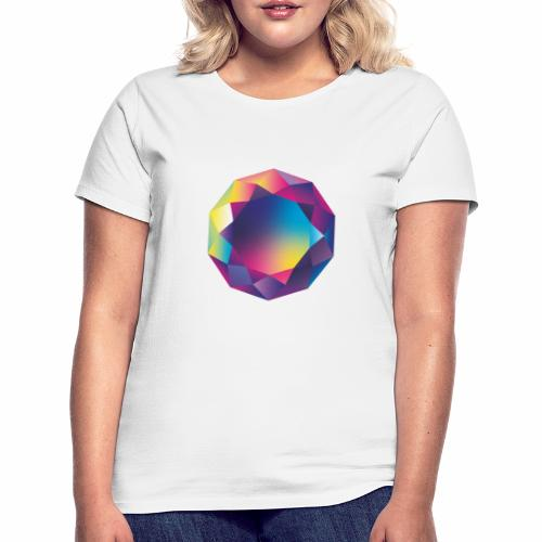 Diamond geometric illustration - Women's T-Shirt
