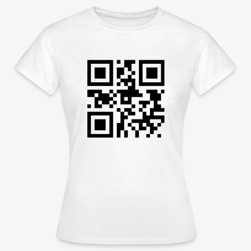 QR-Code Unique - T-skjorte for kvinner