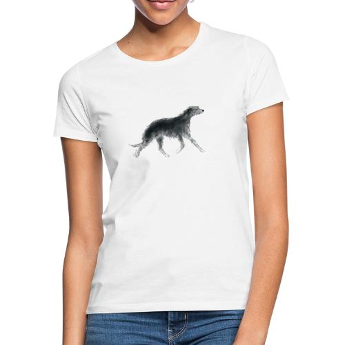 Deerhound in Aquarell - Frauen T-Shirt