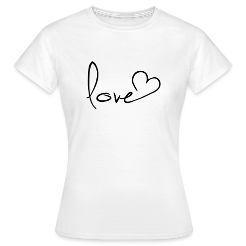 love 01 png - Frauen T-Shirt