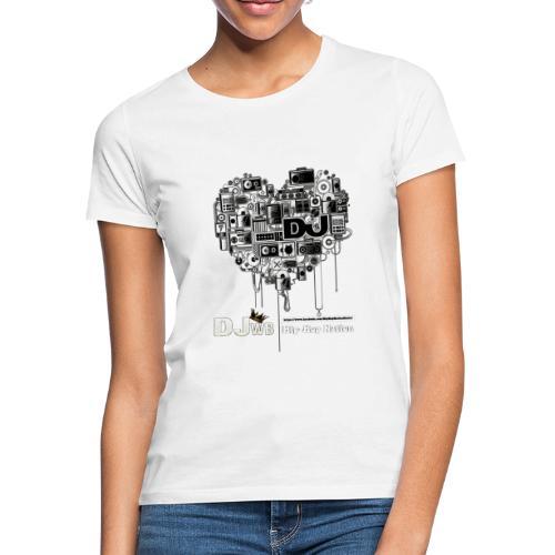Design Music DJ WB Hip Hop Nation - T-shirt Femme