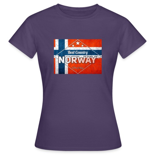 Best Cuntry NORWAY - Women's T-Shirt